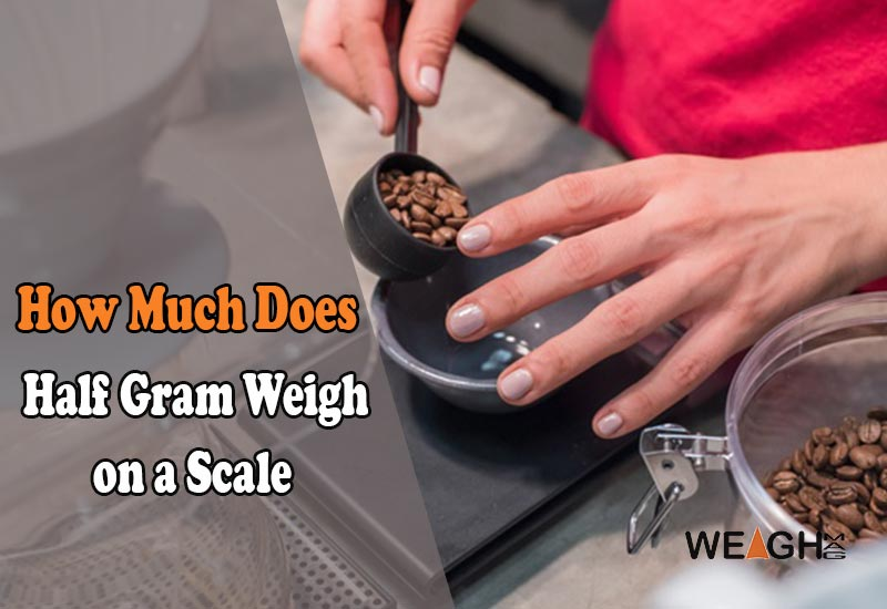 How Much Does a Half Gram Weigh on a Scale? - WeighMag