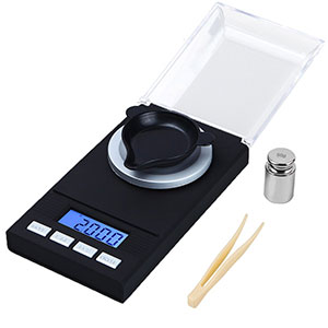 WAOAW-Digital-Milligram-Scale-50-X-0.001g-Reloading-Jewelry-Scale-Digital-Weight-with-Calibration-Weights