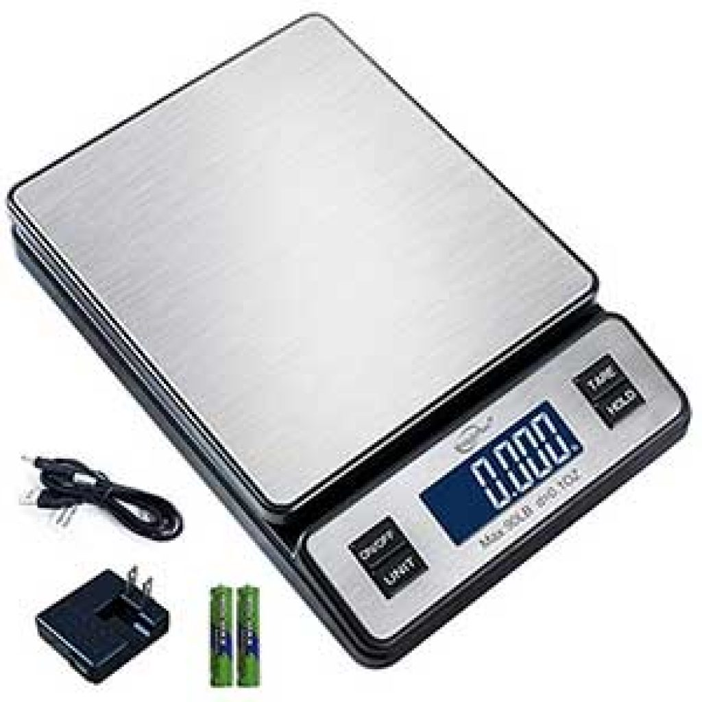 Weighmax-OZ-Durable-Stainless-Steel-Digital-Postal-Scale