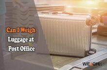 Can I Weigh My Luggage at the Post Office?