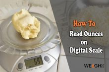 How to Read Ounces on a Digital Scale